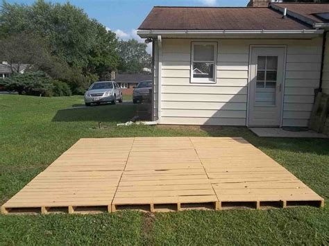How To Build An Outdoor Wood Deck