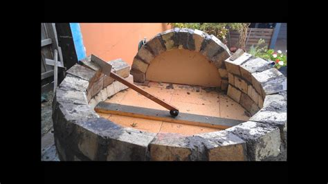 How To Build An Outdoor Wood Fired Pizza Oven