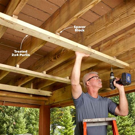 How To Build An Under Deck Roof