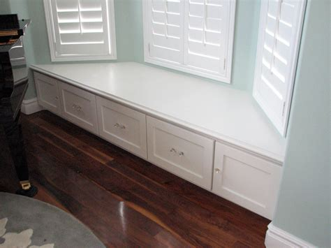 How To Build Bay Window Bench Seat