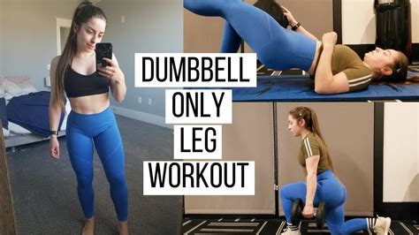 How To Build Bigger Legs With Dumbbells