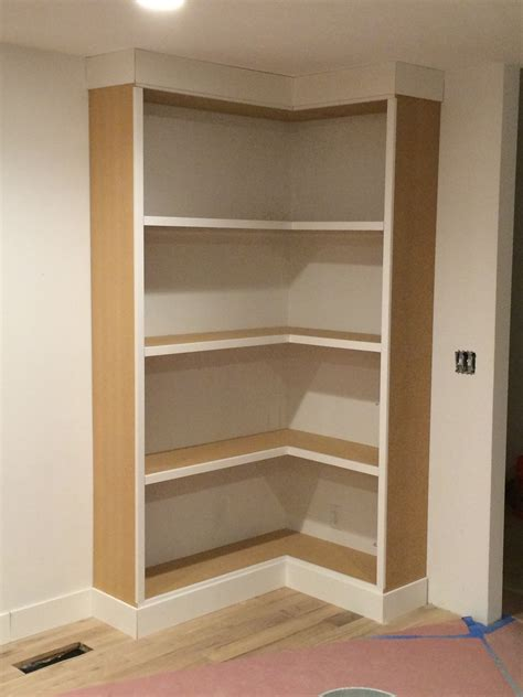 How To Build Bookshelves In A Corner