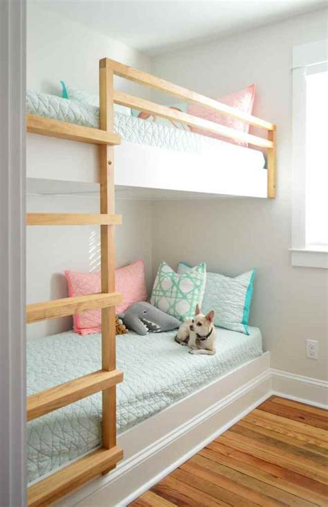 How To Build Built In Bunk Beds
