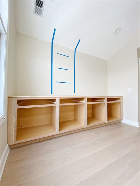 How To Build Built In Closet Cabinets