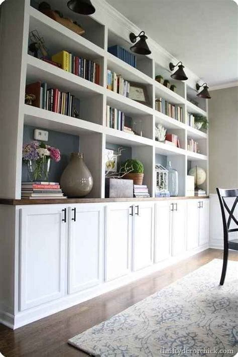 How To Build Built In Shelves With Ikea Furniture