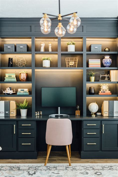 How To Build Built Ins For An Office
