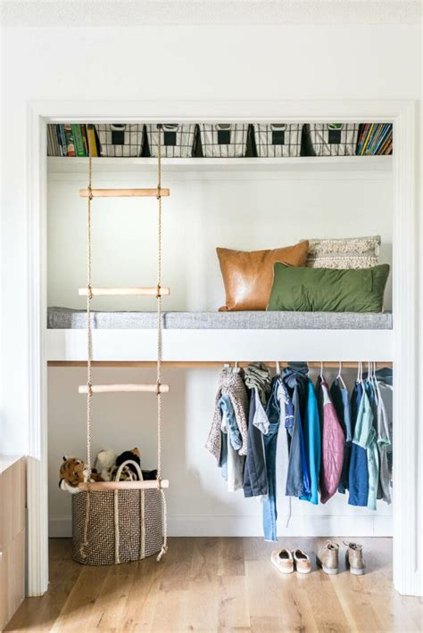 How To Build Bunk Beds In A Closet