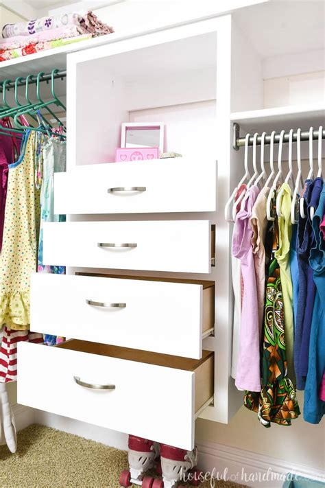 How To Build Closet Drawers