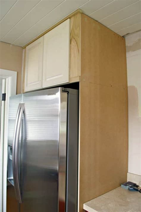 How To Build Custom Cabinets Around A Fridge