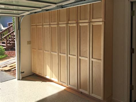 How To Build Custom Garage Cabinets