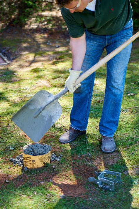 How To Build Deck Footings With Quikrete Resurfacer