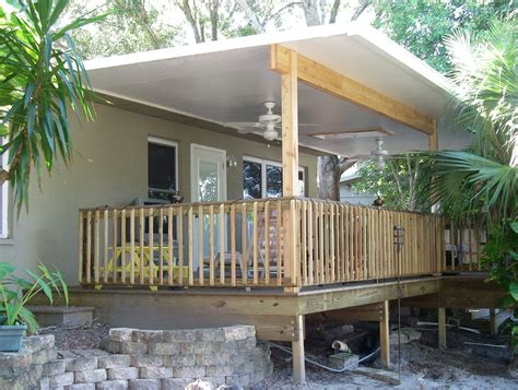 How To Build Deck Over Roof Designs