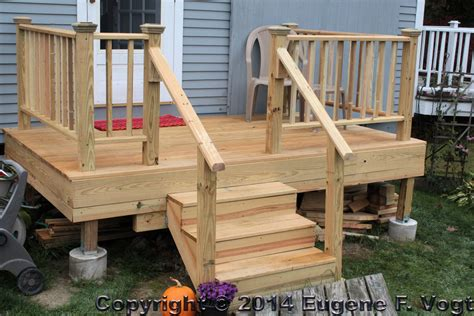 How To Build Deck Post Railings Farrow