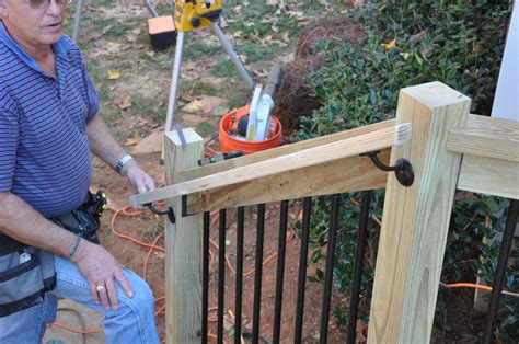 How To Build Deck Post Railings For Concrete