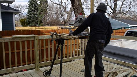 How To Build Deck Railings Youtube Kids