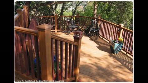 How To Build Deck Railings Youtube To Mp3