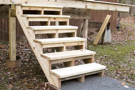 How To Build Deck Steps With Precut Stringers