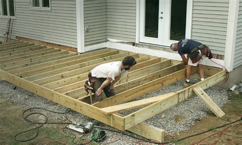 How To Build Deck Without Wood Joists