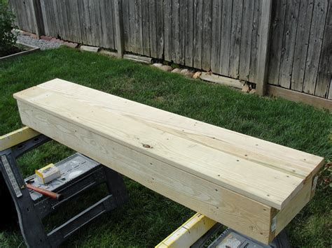 How To Build Decking Box Steps Exercise
