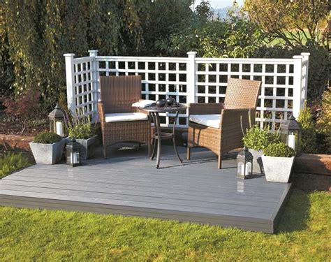 How To Build Decking Frame On Grass