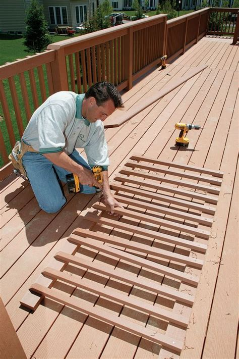 How To Build Decking Handrails