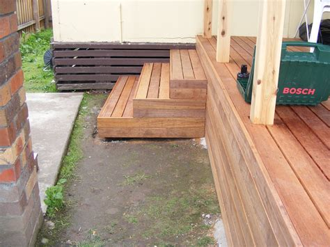 How To Build Decking Steps