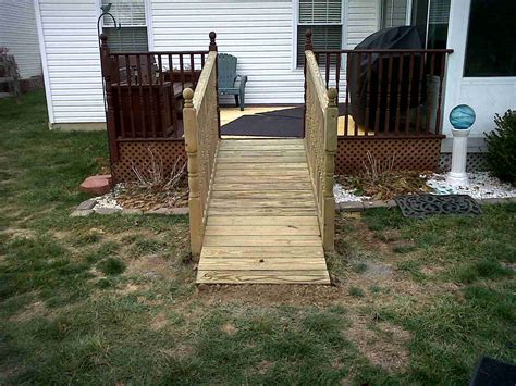 How To Build Dog Ramp Off Deck
