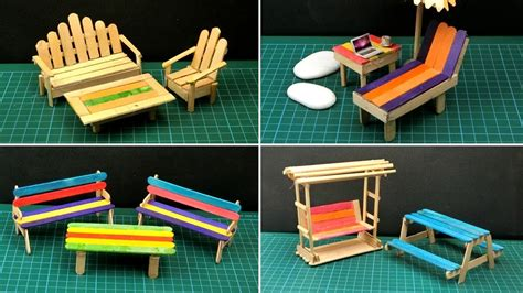How To Build Doll Furniture With Popsicle Sticks