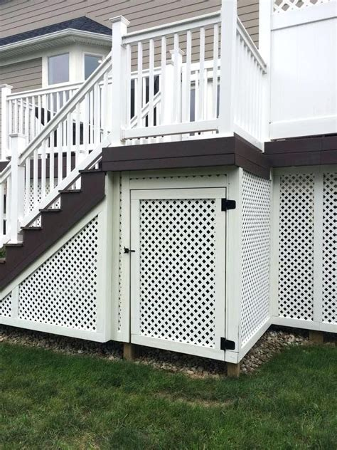 How To Build Double Doors For Under Decks