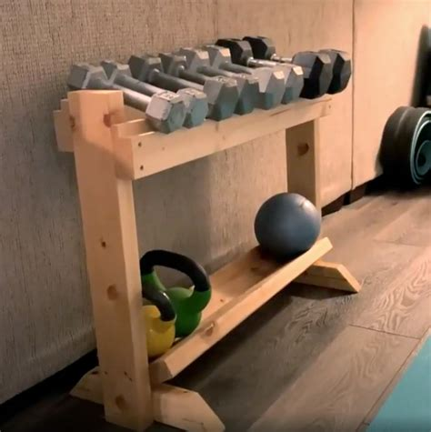 How To Build Dumbbell Rack Plans