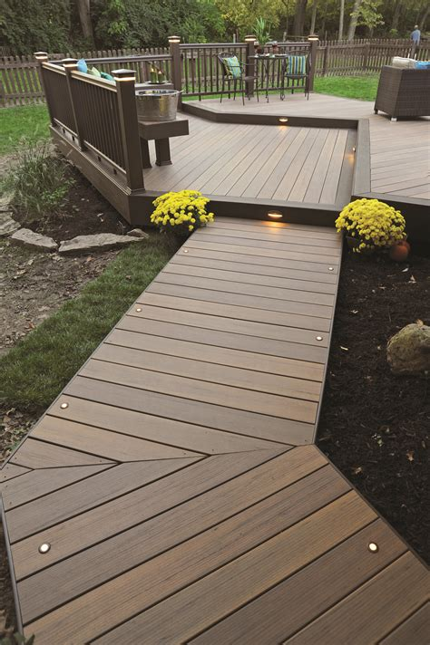 How To Build Elevated Deck Walkway Lighting