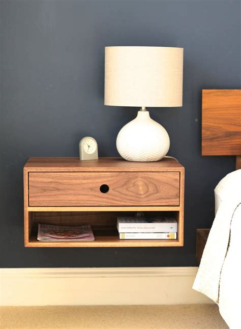 How To Build Floating Nightstand With Drawer