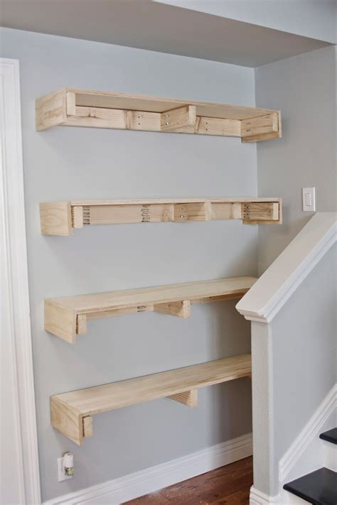 How To Build Floating Shelves Diy