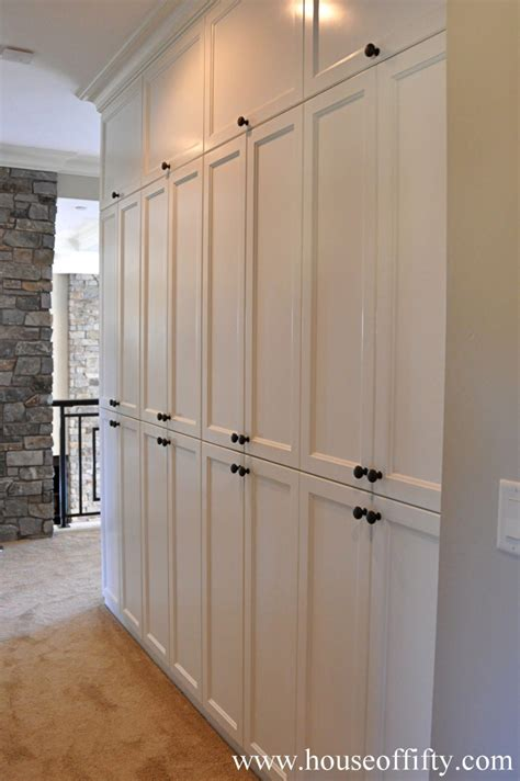How To Build Floor To Ceiling Cabinets With Doors