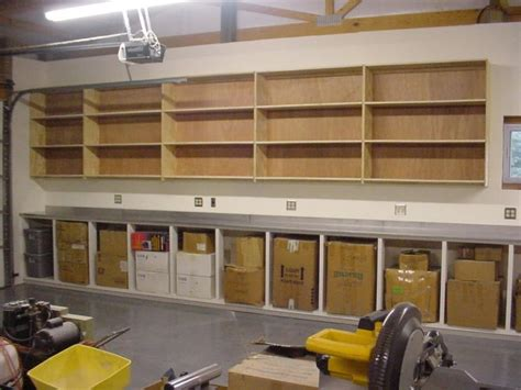 How To Build Garage Shelves On A Wall
