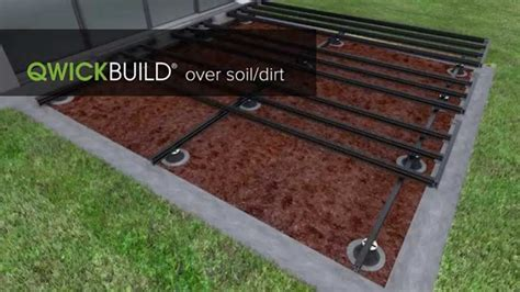 How To Build Garden Decking On Soil