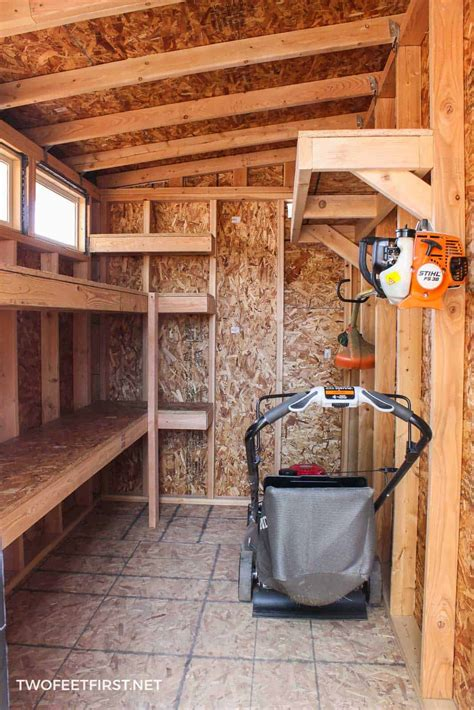 How To Build Garden Shed To Garage