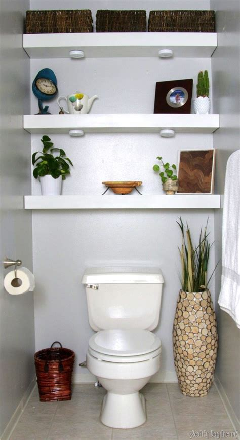 How To Build In Cabinets Behind Toilet