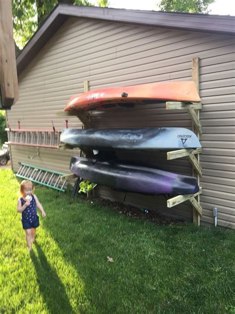 How To Build Kayak Rack