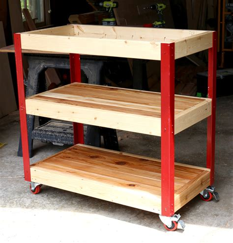 How To Build Kitchen Cart Plans