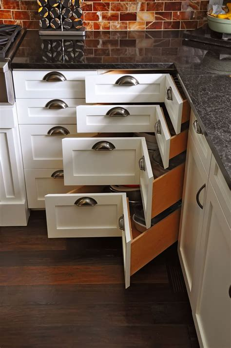 How To Build Kitchen Corner Drawers