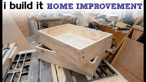 How To Build Kitchen Drawers Youtube