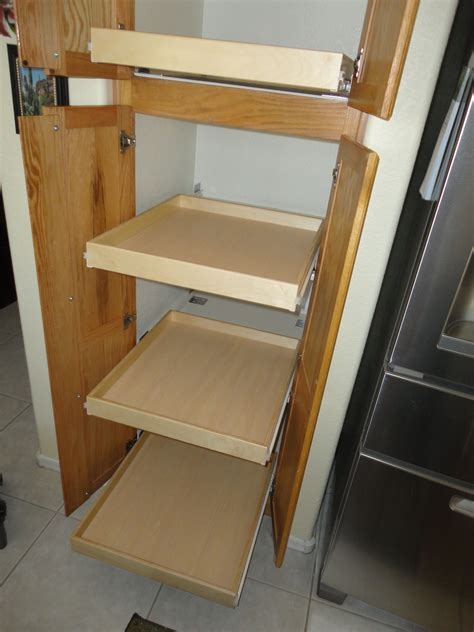 How To Build Kitchen Rolling Shelves
