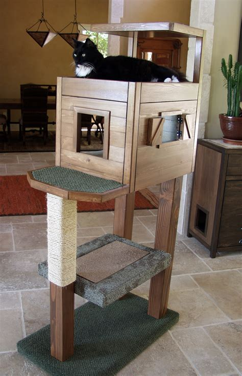How To Build Kitty Condo Plans
