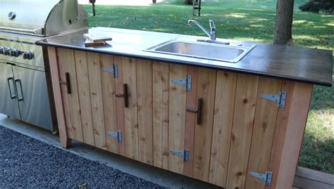 How To Build Outdoor Kitchen Cabinet Doors