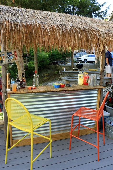 How To Build Outdoor Patio Bar Plans Designs