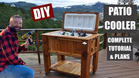 How To Build Outdoor Patio Cooler