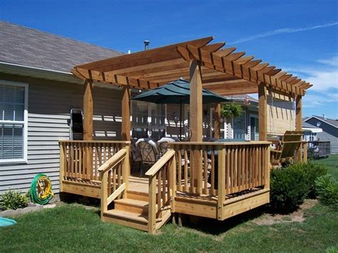 How To Build Pergola On Existing Deck