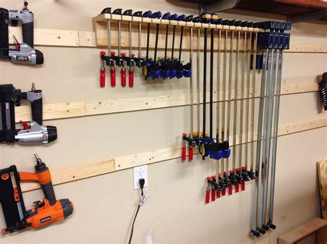 How To Build Pipe Clamp Rack