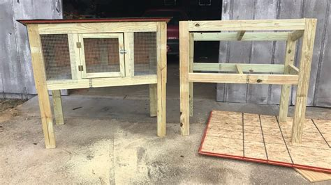 How To Build Rabbit Hutches Youtube Video
